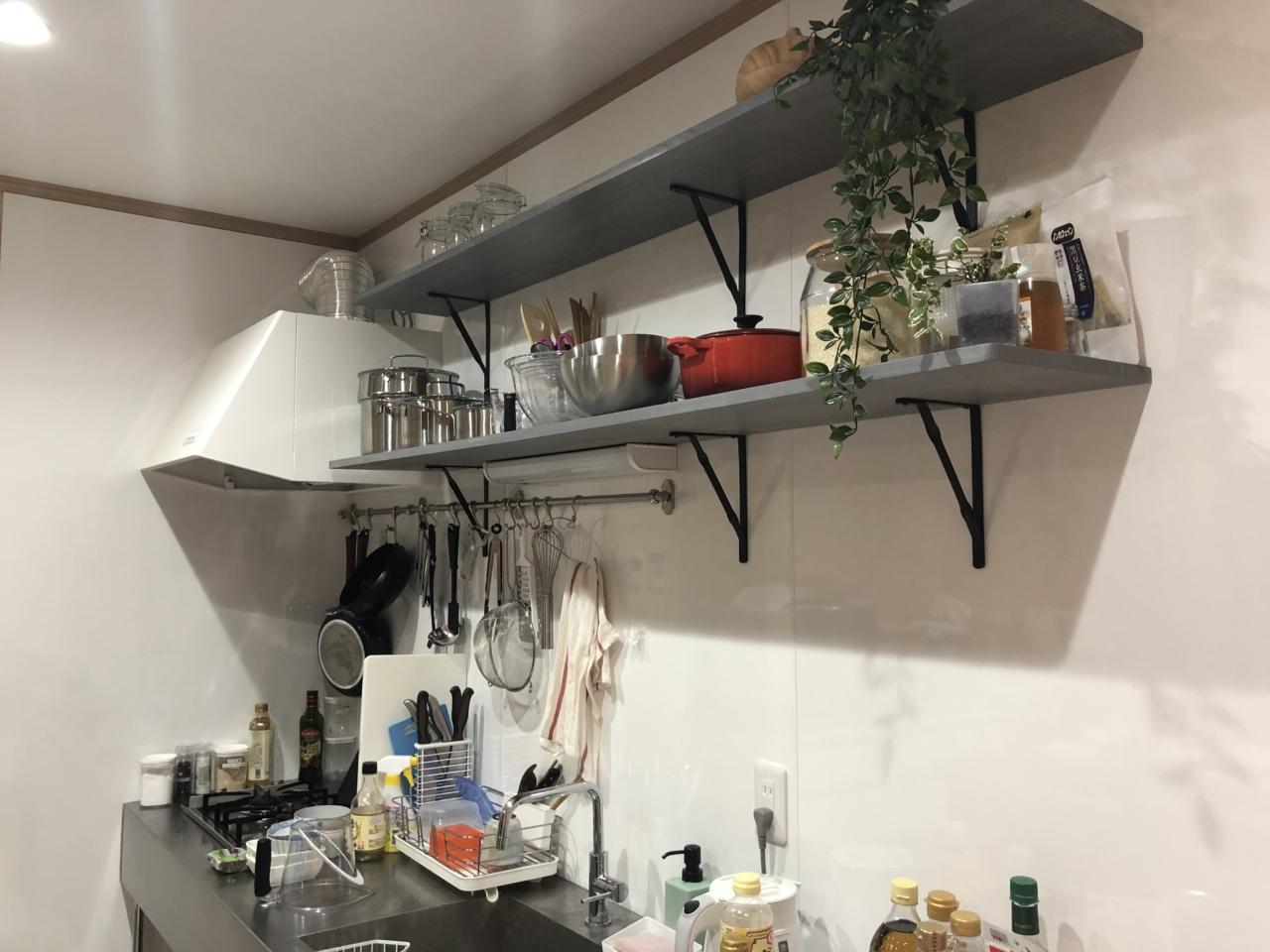 キッチン棚|つくばのフィットネス×料理教室のお店/マンマビレッジ