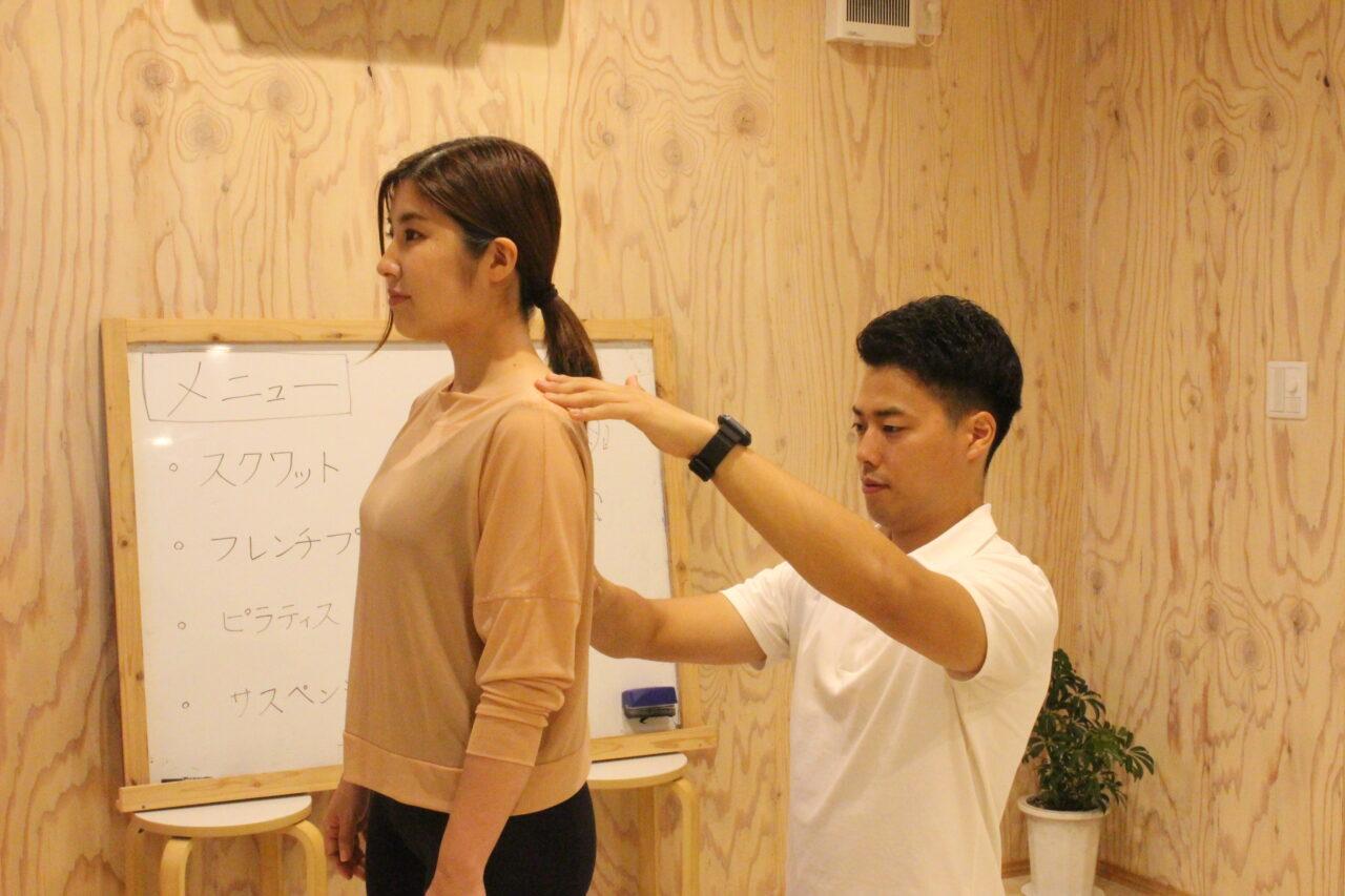 パーソナルトレーニングでの身体の評価とフィードバック